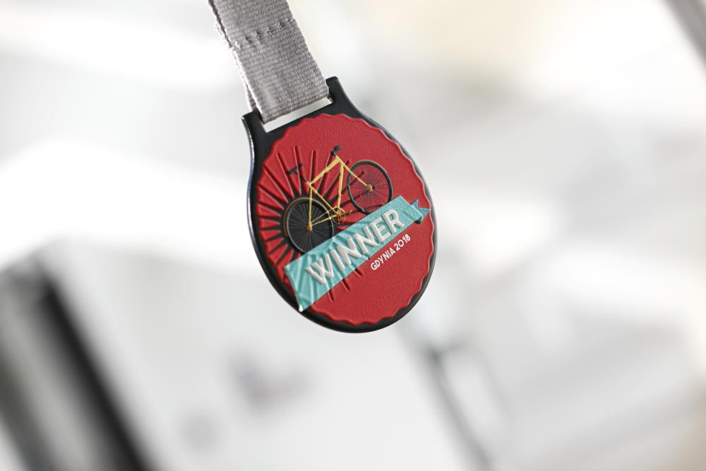 Medal design - cycling medals