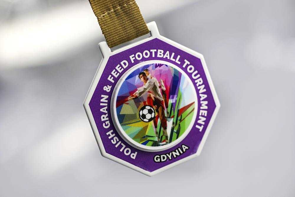 Medal design - personalised football medals