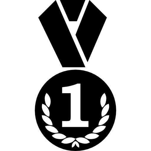 First place bespoke medal